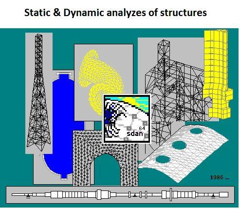 Софтуер за статични и динамични анализи на конструкции