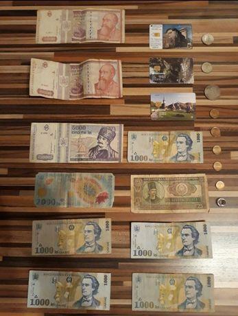 Bancnote vechi, monede, cartele telefonice de colectie