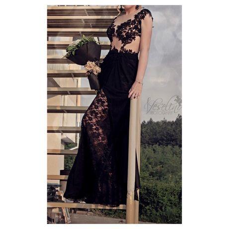 Бална рокля черна Стоян Радичев