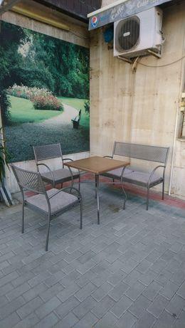 Градинска тръбна мебел  6 комплекта