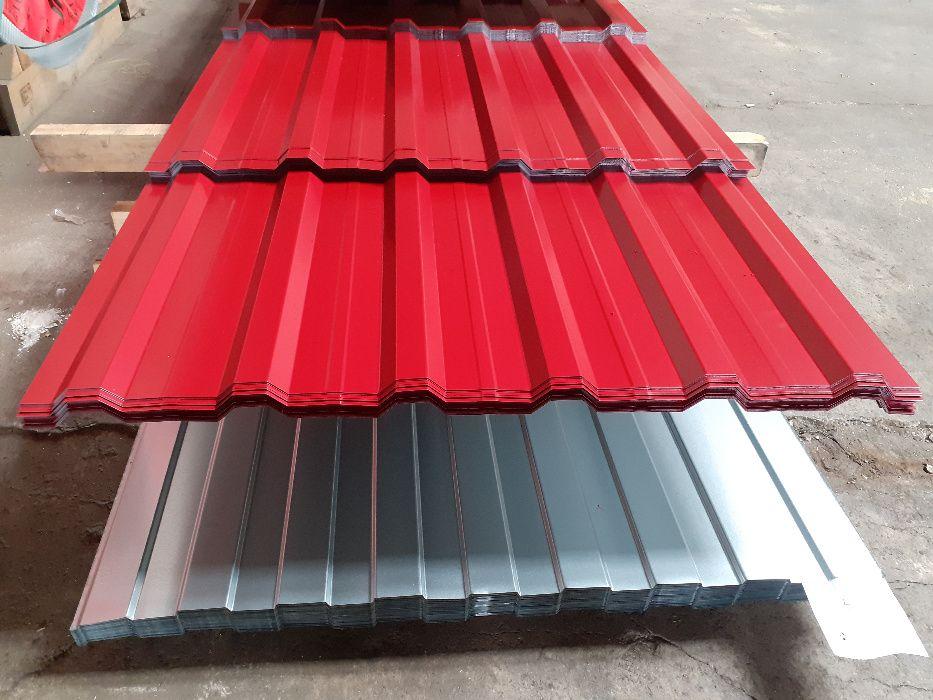 Tabla cutata T18 zincata si vopsita de la fabrica fara intermediari