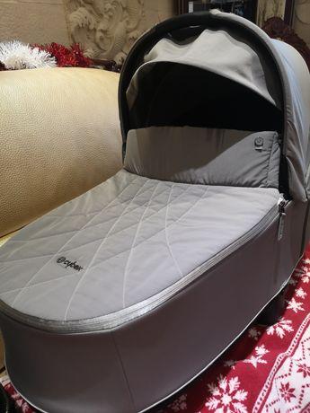 Кош за новородено Cybex Priam Lux Soho grey 2020
