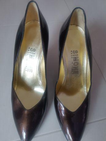 Официални обувки Черни , Италиански