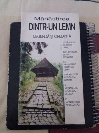 ghid turistic manastirea dintr-un lemn 1995 limba romana