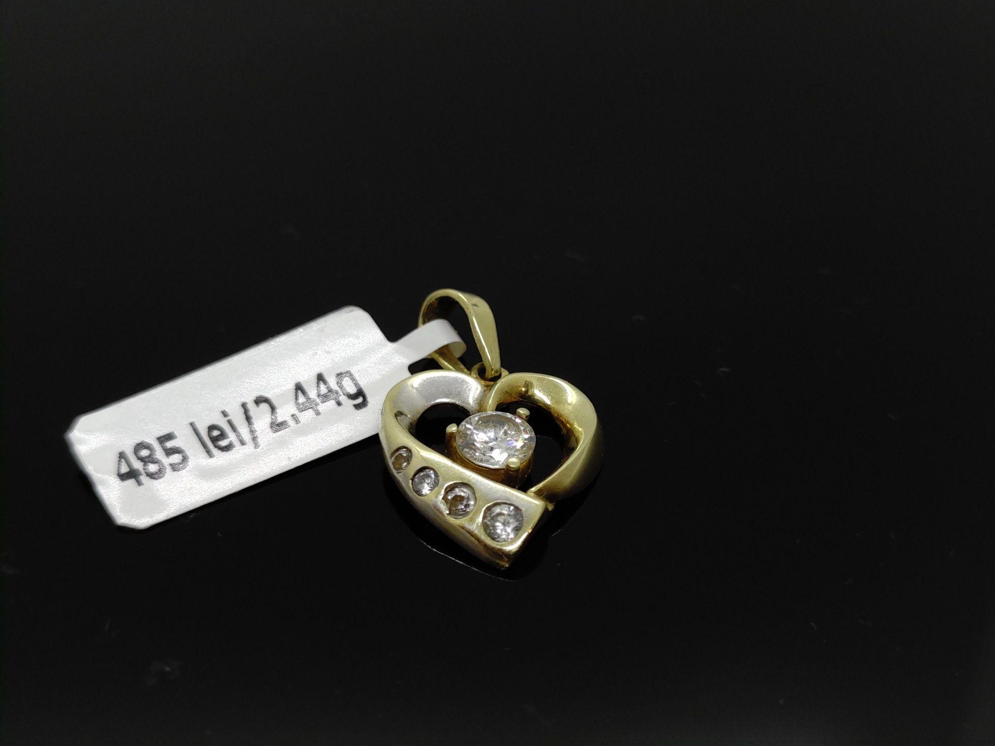 Amanet Royal: pandant aur 14k/2,44 gr