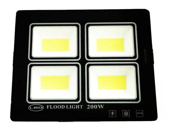 Proiector LED 200w Slim pentru exterior
