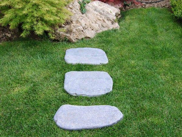 Piatră de munte pași de grădină