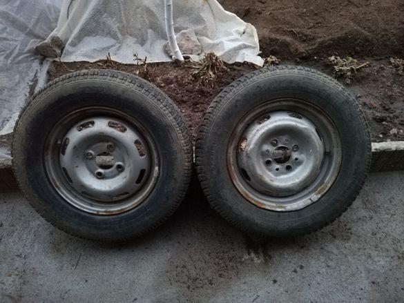 Джанти с гуми за лада