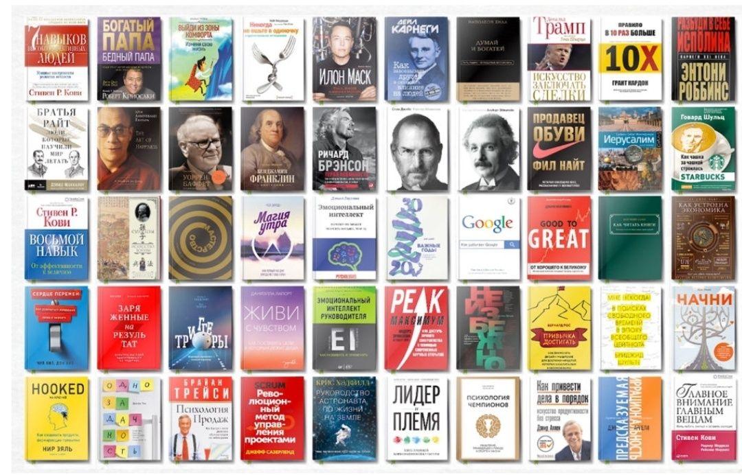 2000 электронных книг по саморазвитию бизнесу и психологии