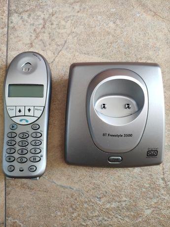 Безжичен телефон British Telecom с две слушалки