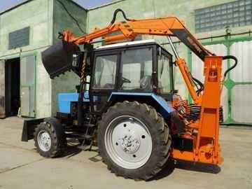 Погрузчик грейферный ПЭ-Ф-1БМ к трактору МТЗ