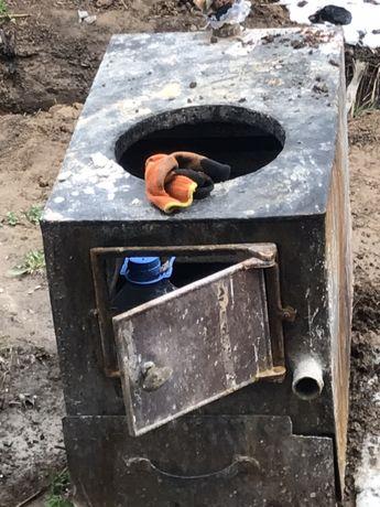 Печь для отопления (на уголь)