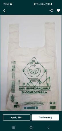 Pungi sacose 100% biodegradabile fără ecotaxa