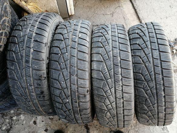 Продавам 4 бр. зимни гуми с железни джанти за Форд Фиеста (Ford Fiestа