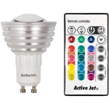 LED крушка Active Jet AJE-P3110RGB/GU10