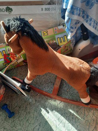 Продам лошадку детский состояние хорошее за 3000тг
