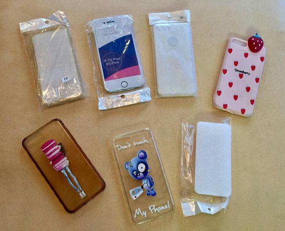 Селиконови калъфи, кейсове за iphone 7 plus