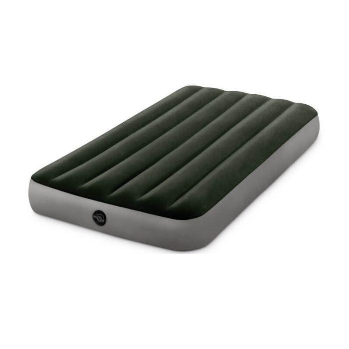 Надувной матрас односпальный Prestige Downy Airbed Intex 64107
