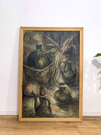 Срочно продается Картина большая 125 × 85 маслом.Живопись.Винтаж