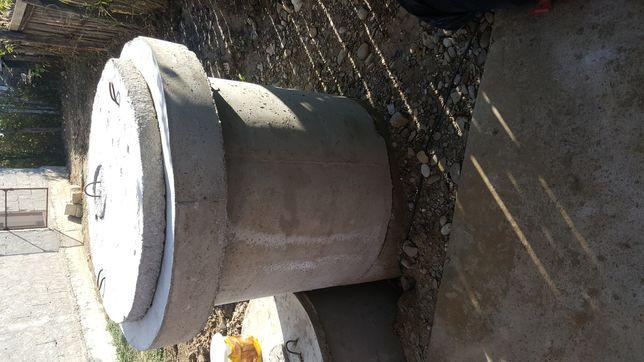 Tuburi din beton armate cu plasa