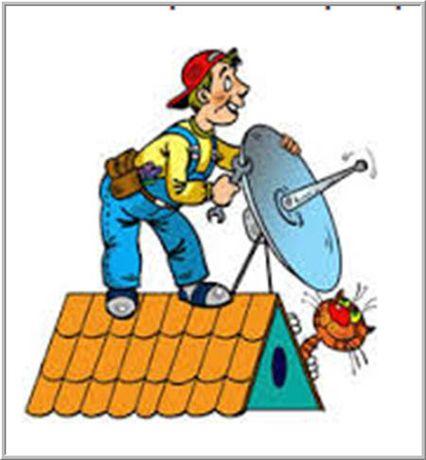 установка настройка ремонт спутник антенн отау тв и другие. гарантия