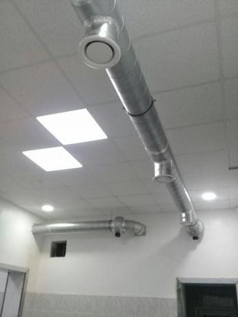 Системы вытяжной и приточной вентиляции! Изготовление. Монтаж.