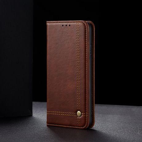 Husa Samsung S20, piele, CaseMe, tip carte, inchidere magnetica