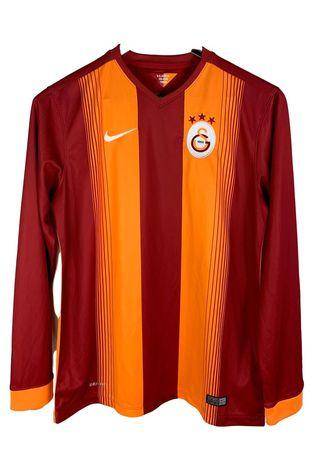 Tricou bărbați fotbal Nike Galatasaray mâneca lunga mărimea L slim xq1
