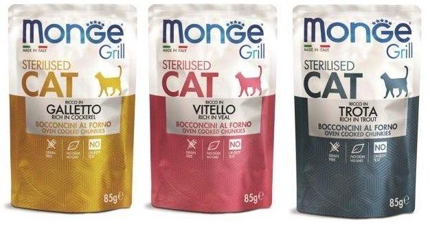 Корм Монже Monge для кошек