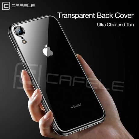 Husa carcasa CAFELE pt. Apple iPhone XR, Crystal Transparent, Nou