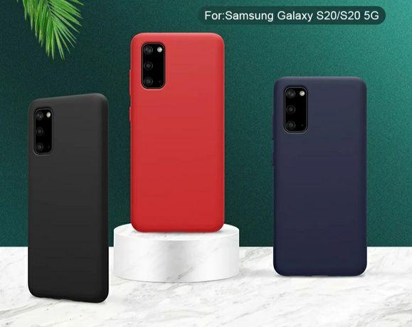 Матов Силиконов Кейс за Samsung Galaxy S20 / S20+ / Ultra / S20FE