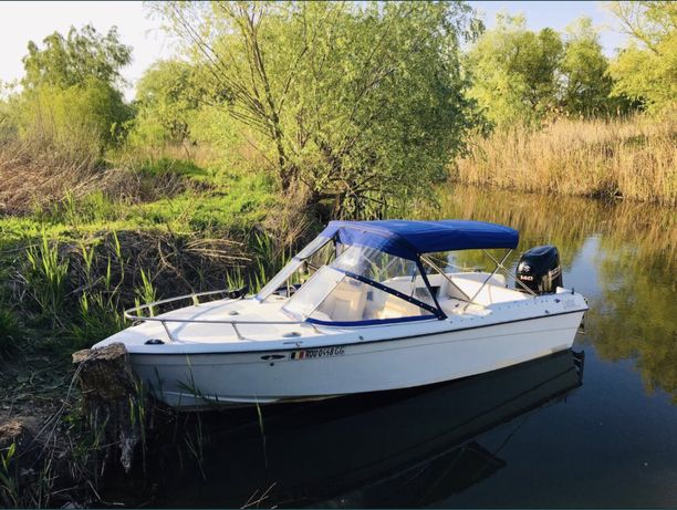 Vand barca Carmar 5,2 L cu biminitop aproape nou