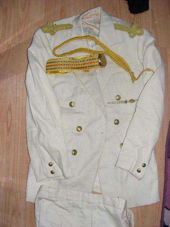 Costum militar vechi de parada,protocol si festivitati,de colectie RPR