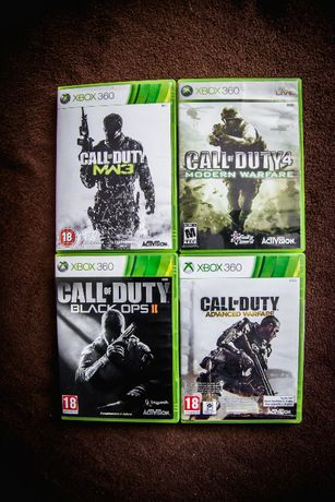 Jocuri originale Xbox 360 - CALL OF DUTY - ca NOI!