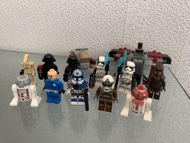 Минифигурки лего звездные войны, lego star wars