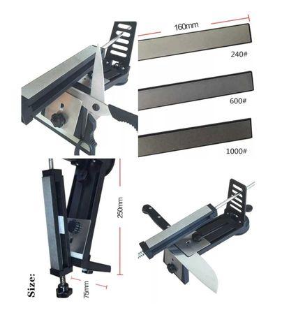 Системата за заточване с фиксиран ъгъл заточване ножове ножици