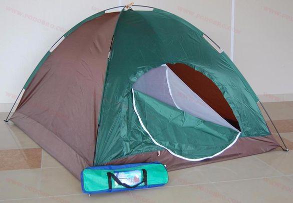 НОВА Палатка за пет човека - еднослойна на промоция