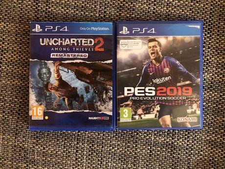 Jocuri ps4-Fifa 19,PES2019,Uncharted 2