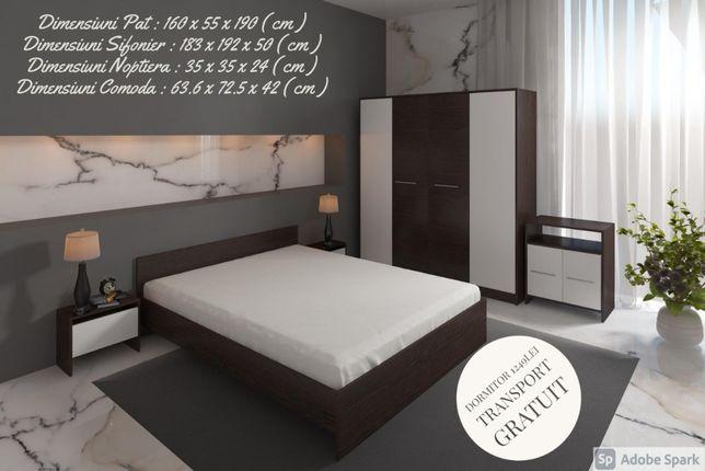 Dormitor Mara Complet-firma-Transport gratuit