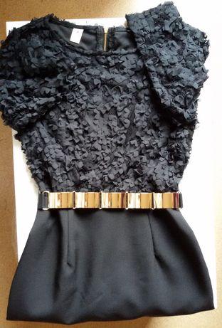 Дамска официална рокля в черно