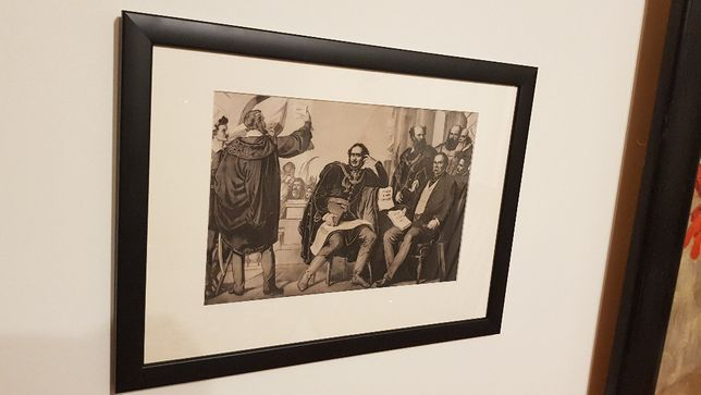 Litografie ungureasca - Than Mor