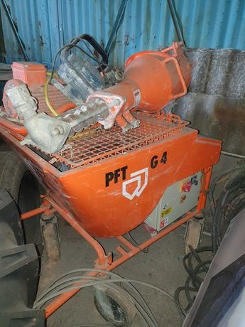 Pompă de tencuit PFT G4