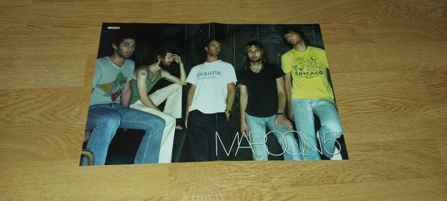 Lot 8 postere Maroon 5, Scooter, Westlife, Back Street Boys