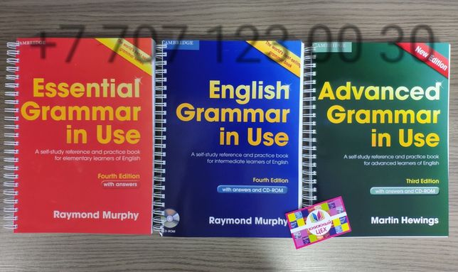 English grammar in use, essential grammar in use