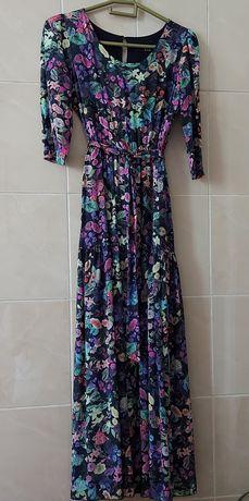 Платье в пол летнее