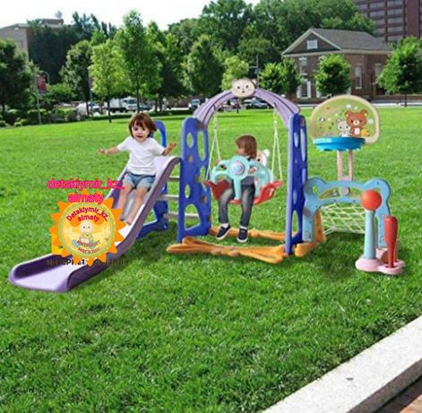 Детский Игровой комплекс Горка качели