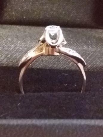 Кольцо золотое 17 размер