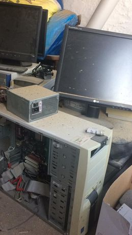 НА ЗАПЧАСТИ компьютер и прочая офисная техника
