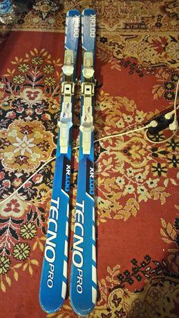 Ски 5 чифта ски с автомати , щеки и скиобувки 37 ном. на изгодни цени