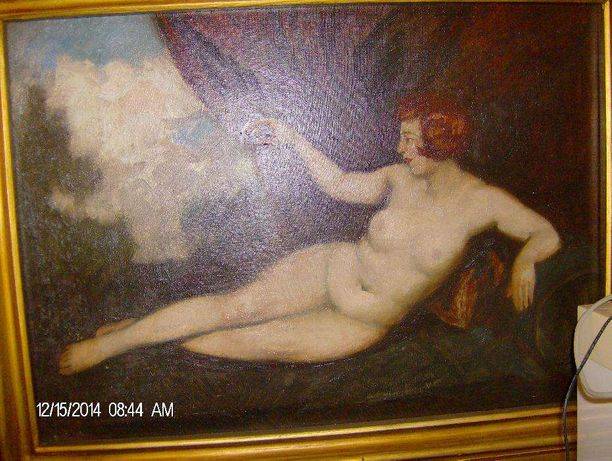 Tablou nud szautner lipot originala
